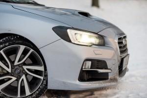 Subaru Levorg 1.6 GT-S przód prawy felga lampa zderzak led maska wlot