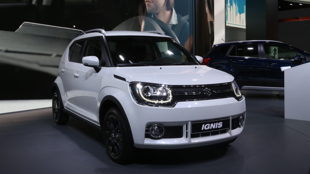 Suzuki Ignis fot. motor1.com