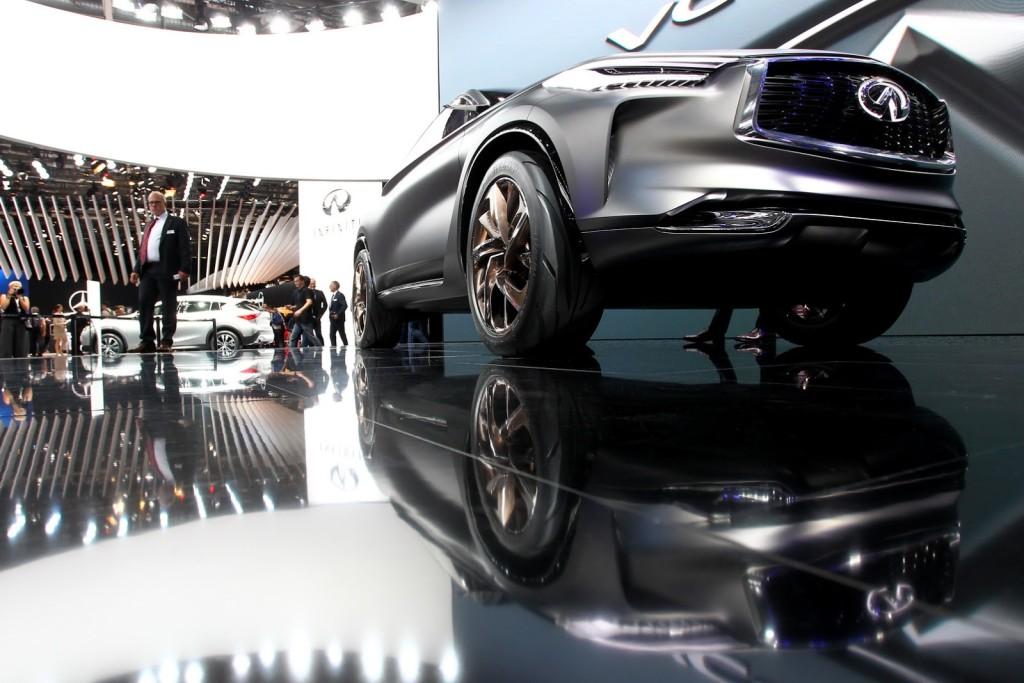 2017 Infiniti QX Sport Inspiration fot. carscoops.com