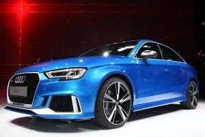 2017 Audi RS3 Sedan fot. carscoops.com