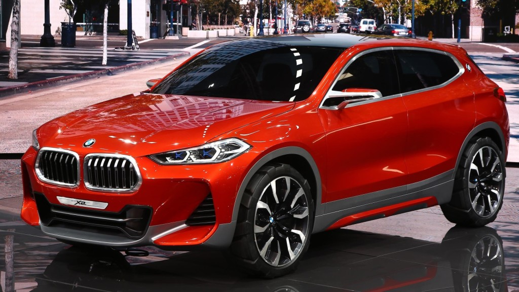 BMW X2 Concept fot. motor1.com