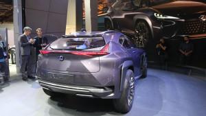 Lexus UX Concept fot. motor1.com