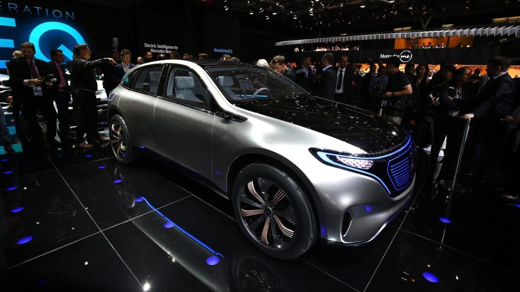 Mercedes Generation EQ Concept fot. motor1.com