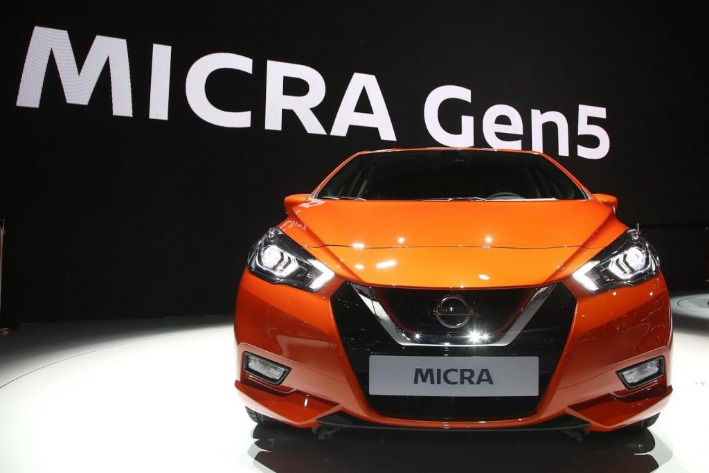 2017 Nissan Micra fot. motor1.com