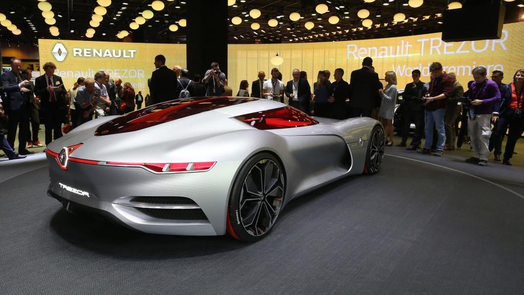 Renault Trezor Concept fot. motor1.com