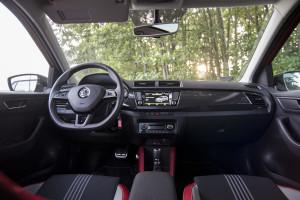 2015 Škoda Fabia Monte Carlo 1.2 TSI 110 KM DSG - test | fot. Marcin Pakulski