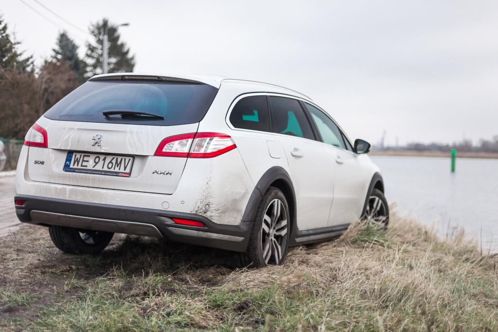 2016 Peugeot 508 RXH 2.0 BlueHDi - test | fot. Marcin Pakulski