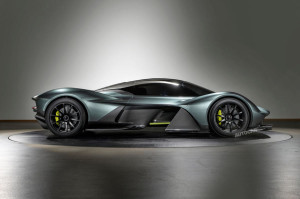 2017 Aston Martin Valkyrie fot. Autocar.co.uk
