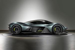 2017 Aston Martin Valkyrie fot. Autocar.co.uk