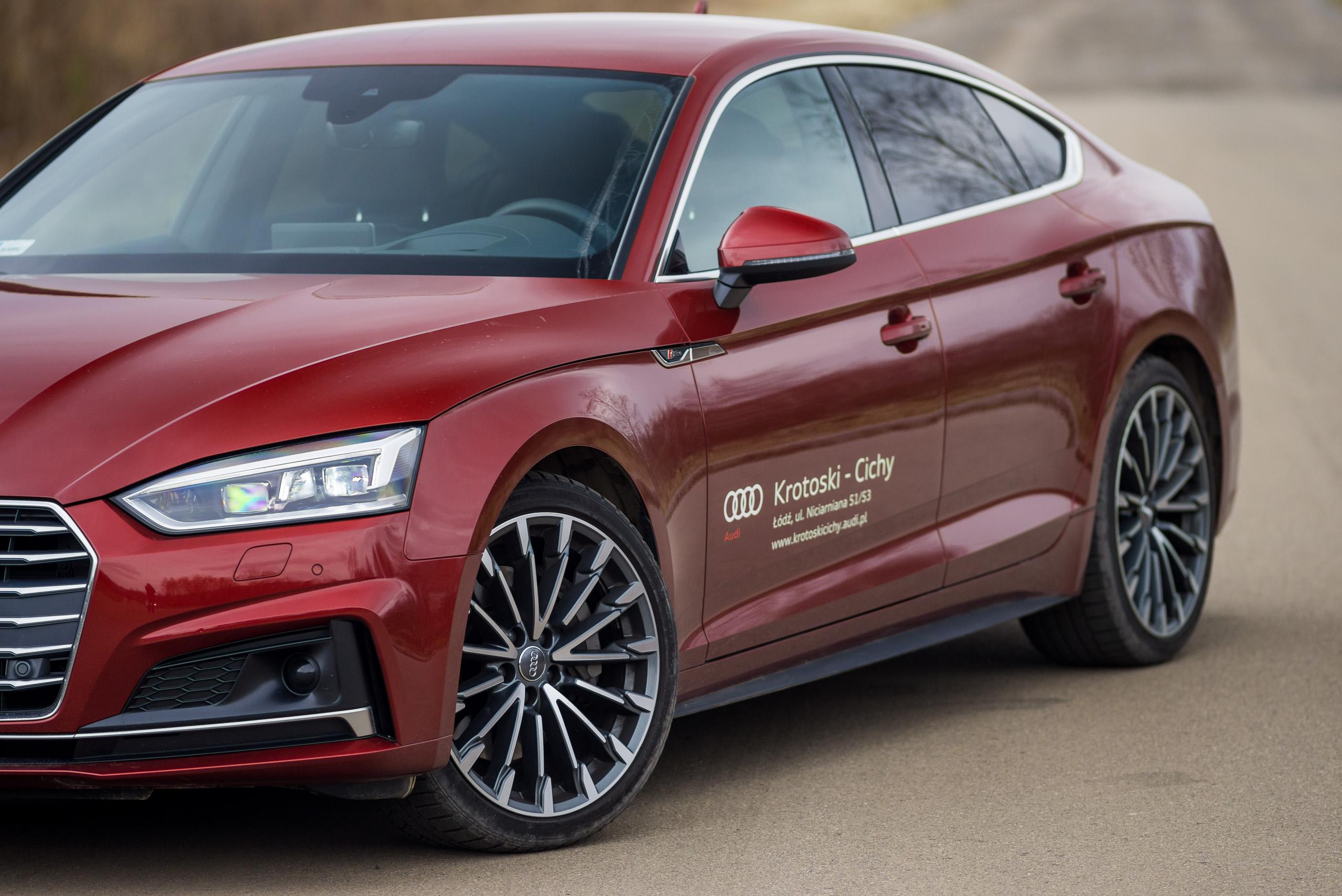 Audi A5 Sportback 20 Tfsi 252 Km Quattro S Tronic Test Project