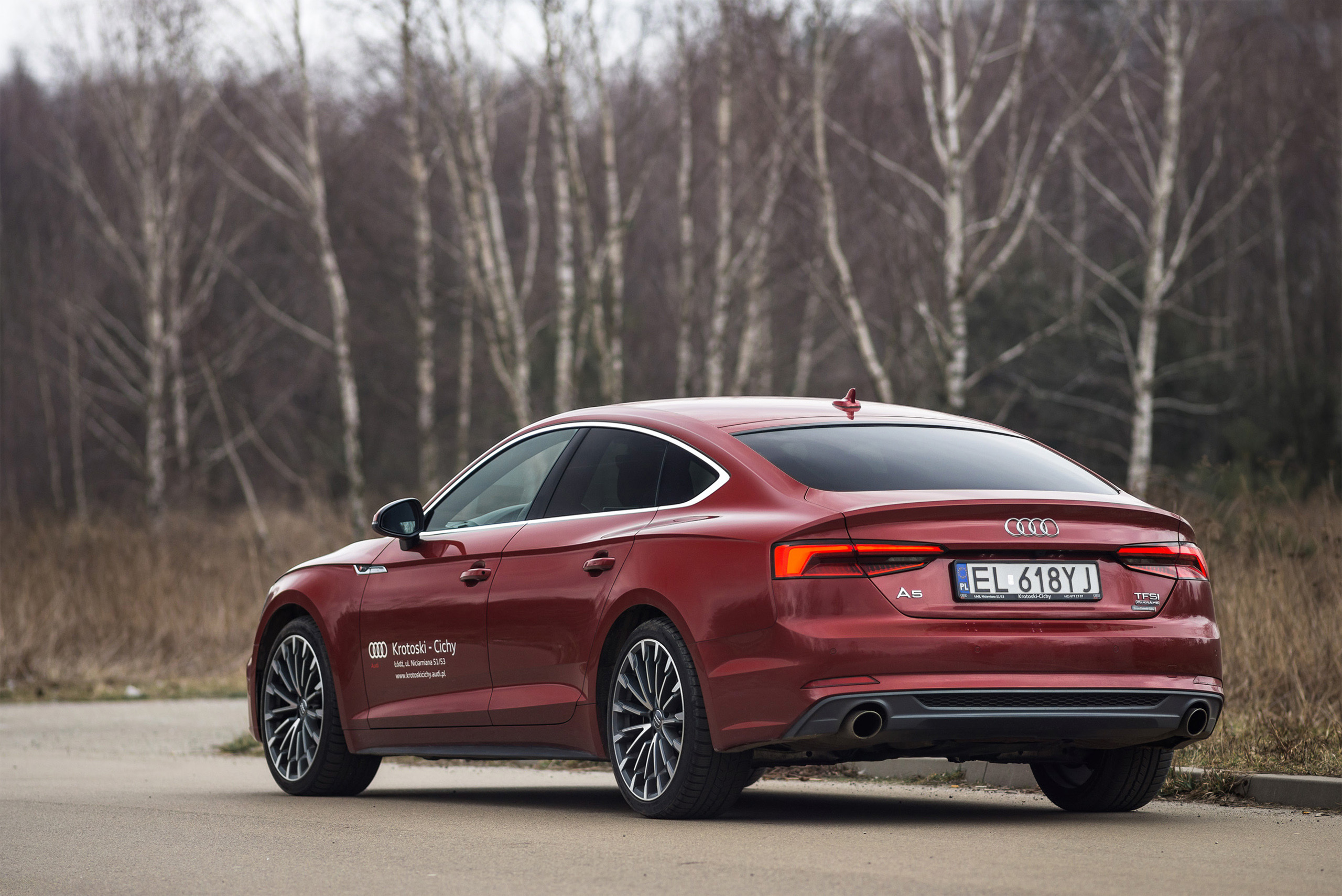 Audi a5 20 tdi quattro sline coupe review