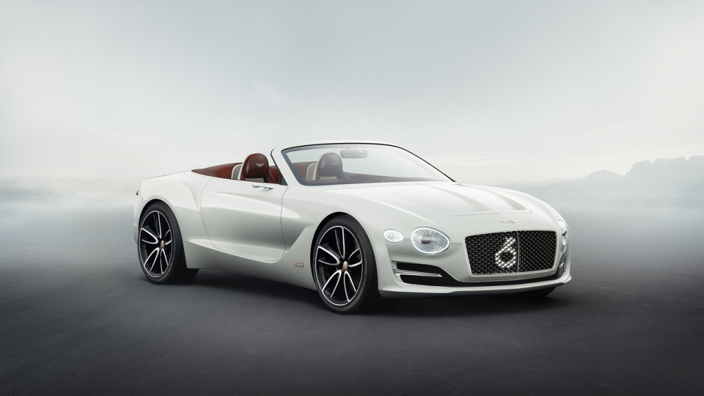 2017 Bentley EXP 12 Speed 6e concept