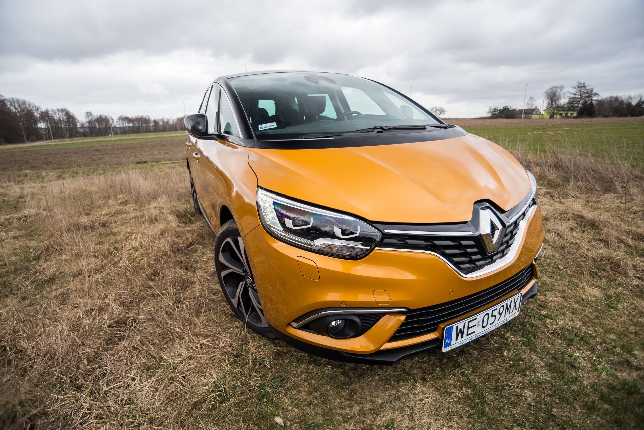 Renault Scenic Energy Tce 130 Bose Test Project Automotive