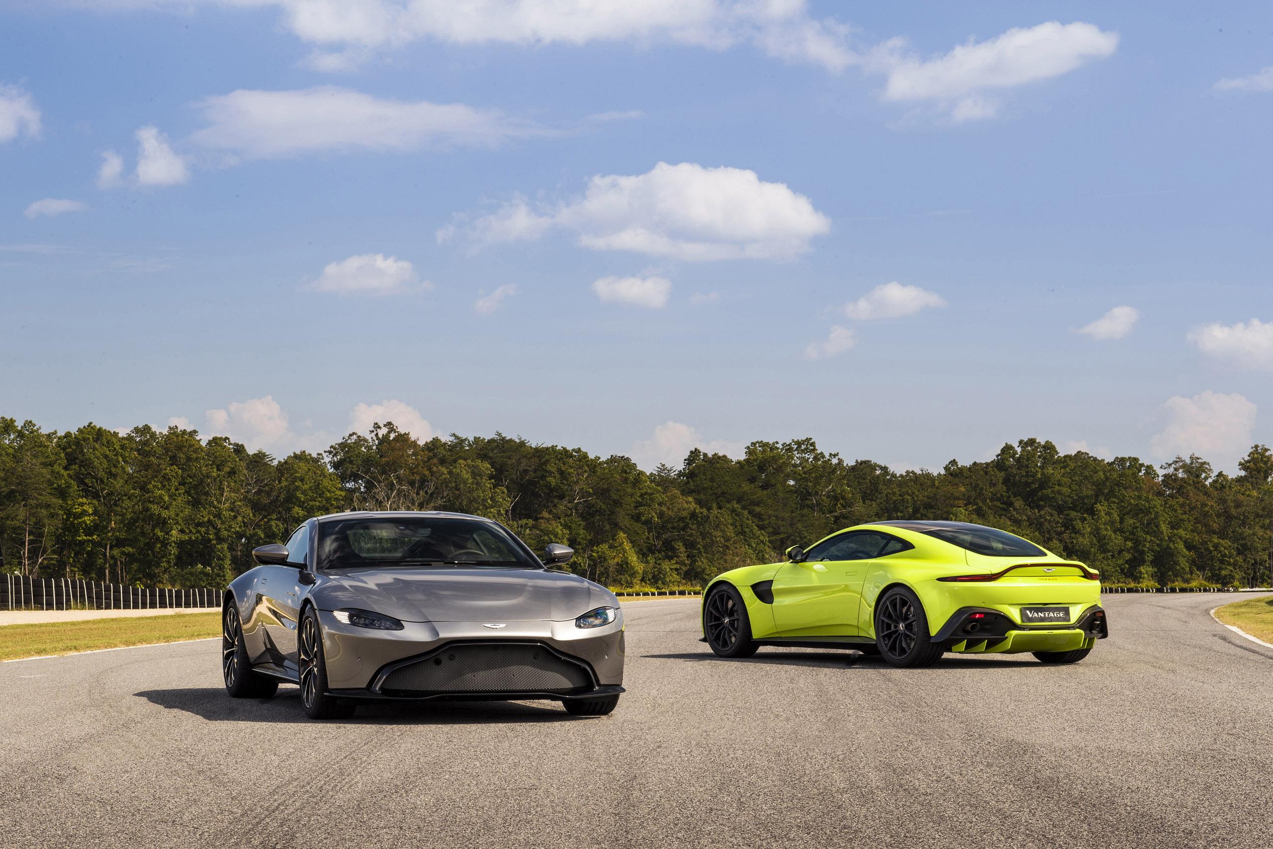 Aston Martin Vantage 2018 – śladami Bonda