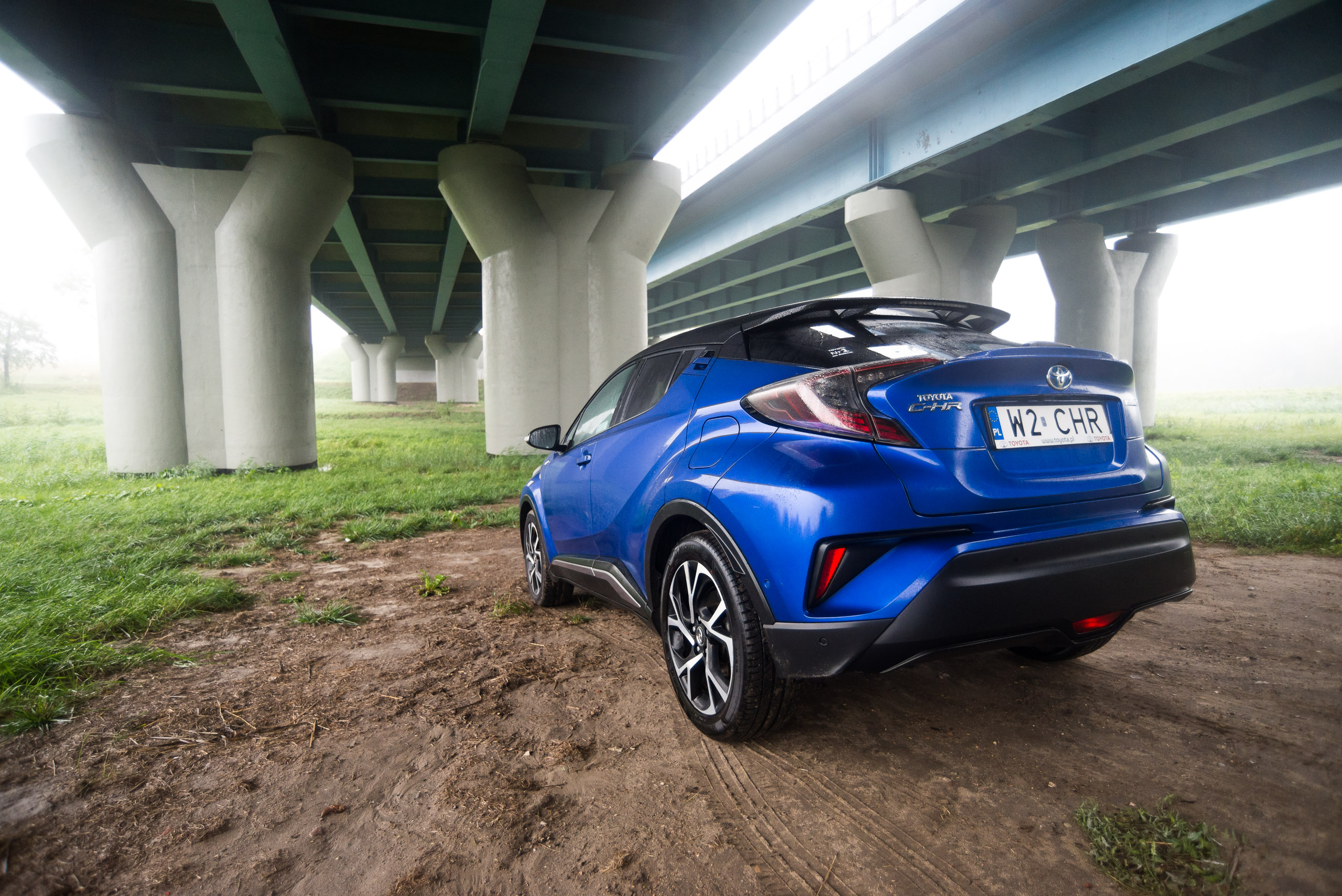 Toyota C Hr 18 Hybrid Dynamic Test Project Automotive