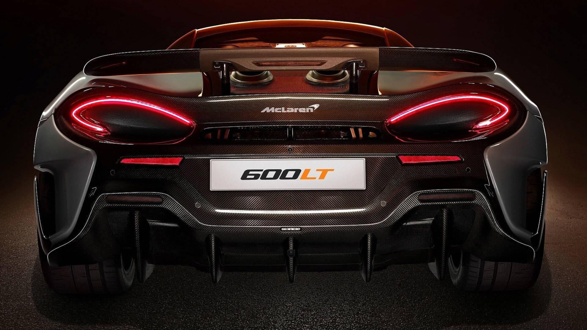 Mclaren 600lt Kolejny Elektryzujący Samochód Z Woking