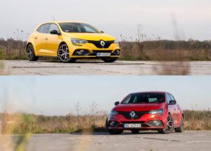Renault Mégane R.S. TCe 300 Trophy | MT/EDC – versus